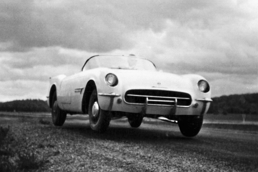 This Is The 1953 Corvette Test Car Or Mule As Such Cars Are Known Inside Auto Manufacturing Business Body Of Second Show Was Later