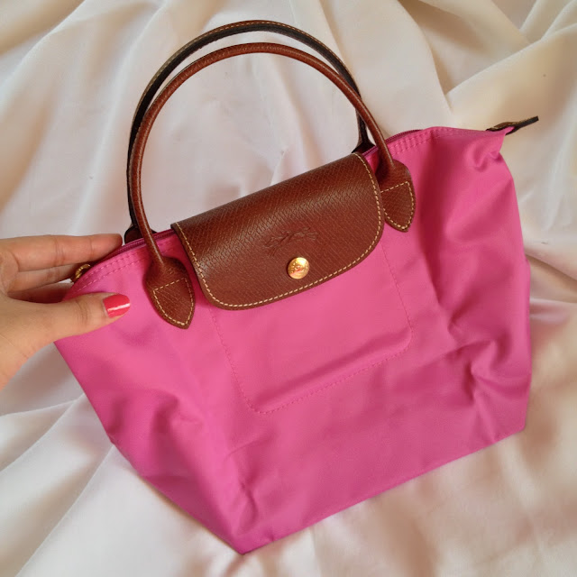 Longchamp Le Pliage Bubblegum Pink