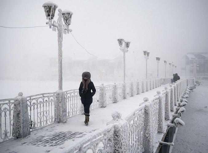 Oymyakon  a cidade mais fria do mundo nas fotos de Amos Chapple