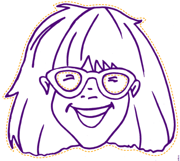 Librarianism Chronicles Free Printable Masks Junie B Jones Coloring Pages