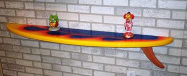 tabla de surf estanteria