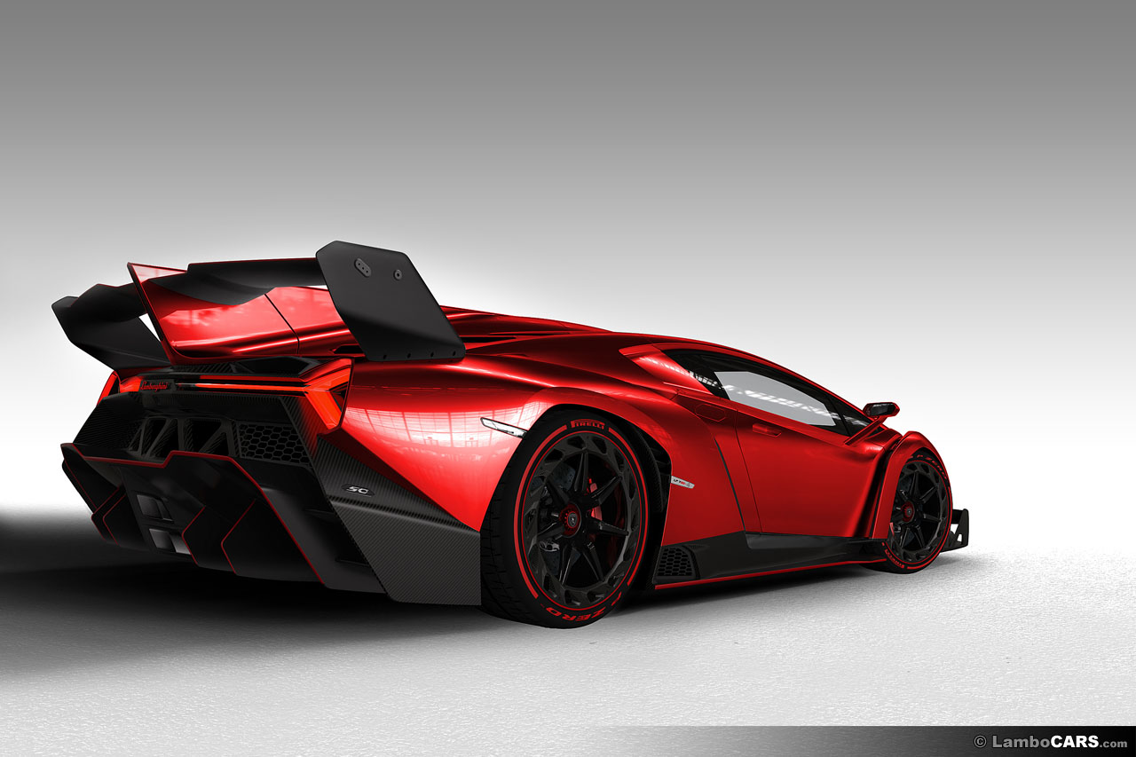 Lamborghini Veneno in Different Colours Could Be Yours ...