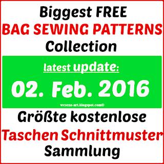 BagSewingPatterns wesens-art.blogspot.com