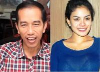 foto mesra Jokowi dan Nikita