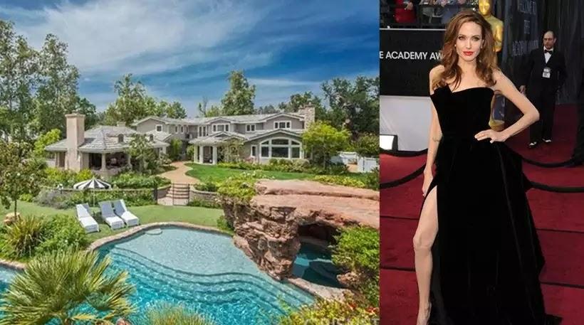 Φωτογραφίες: Το νέο «παλάτι» της φιλέσπλαχνης  κατά παραγγελιά  για λαθρομετανάστες Angelina Jolie αξίας 7 εκατομμυρίων δολαρίων