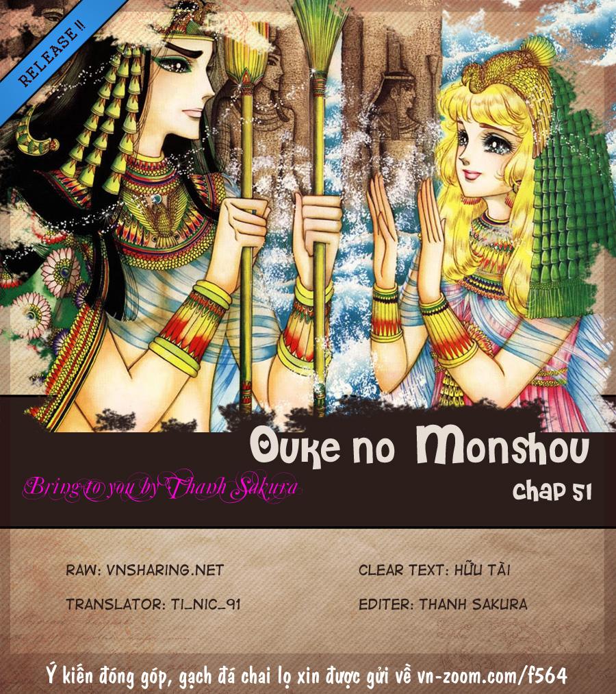 Nữ Hoàng Ai Cập-Ouke no Monshou chap 51 Trang 1 - Mangak.info