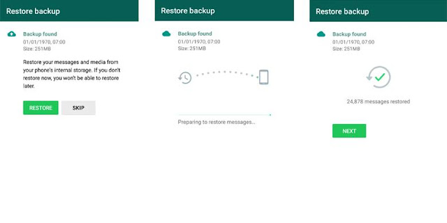 Restore WhatsApp Chat