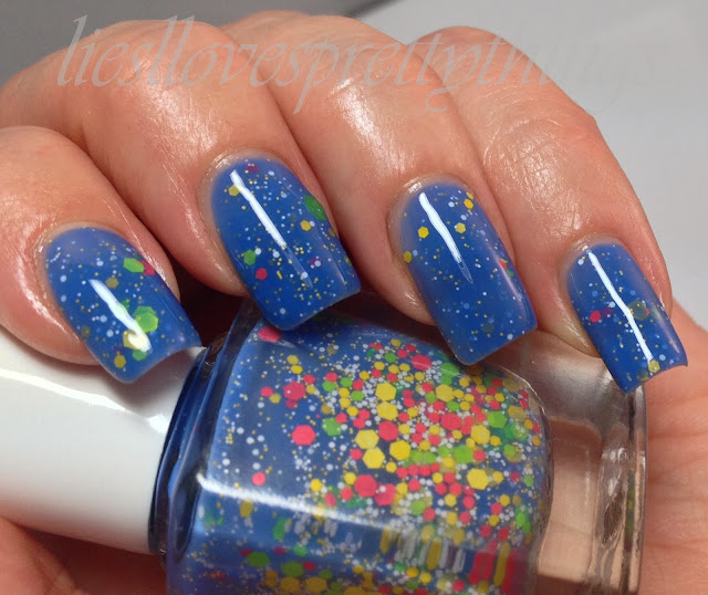 Glam Polish Pacman swatch and review