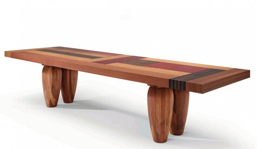 Kids room furniture blog designer wood tables for Modern wooden dining table designs