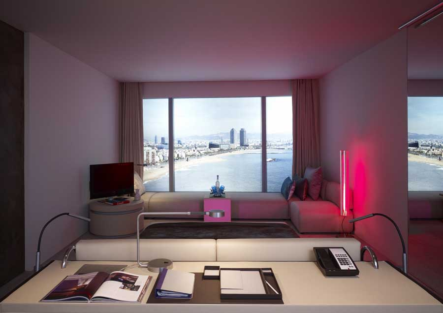 W hotel travel hotel reviews for Design hotel w barcelona