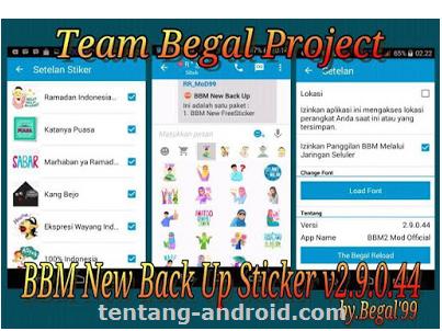 BBM Mod Free Sticker V 2 9.0.44 Apk For Android Latest