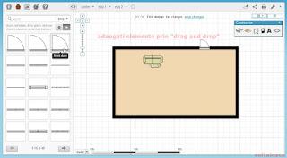Proiectează-ţi casa online - Floorplanner - adaugare iesiri