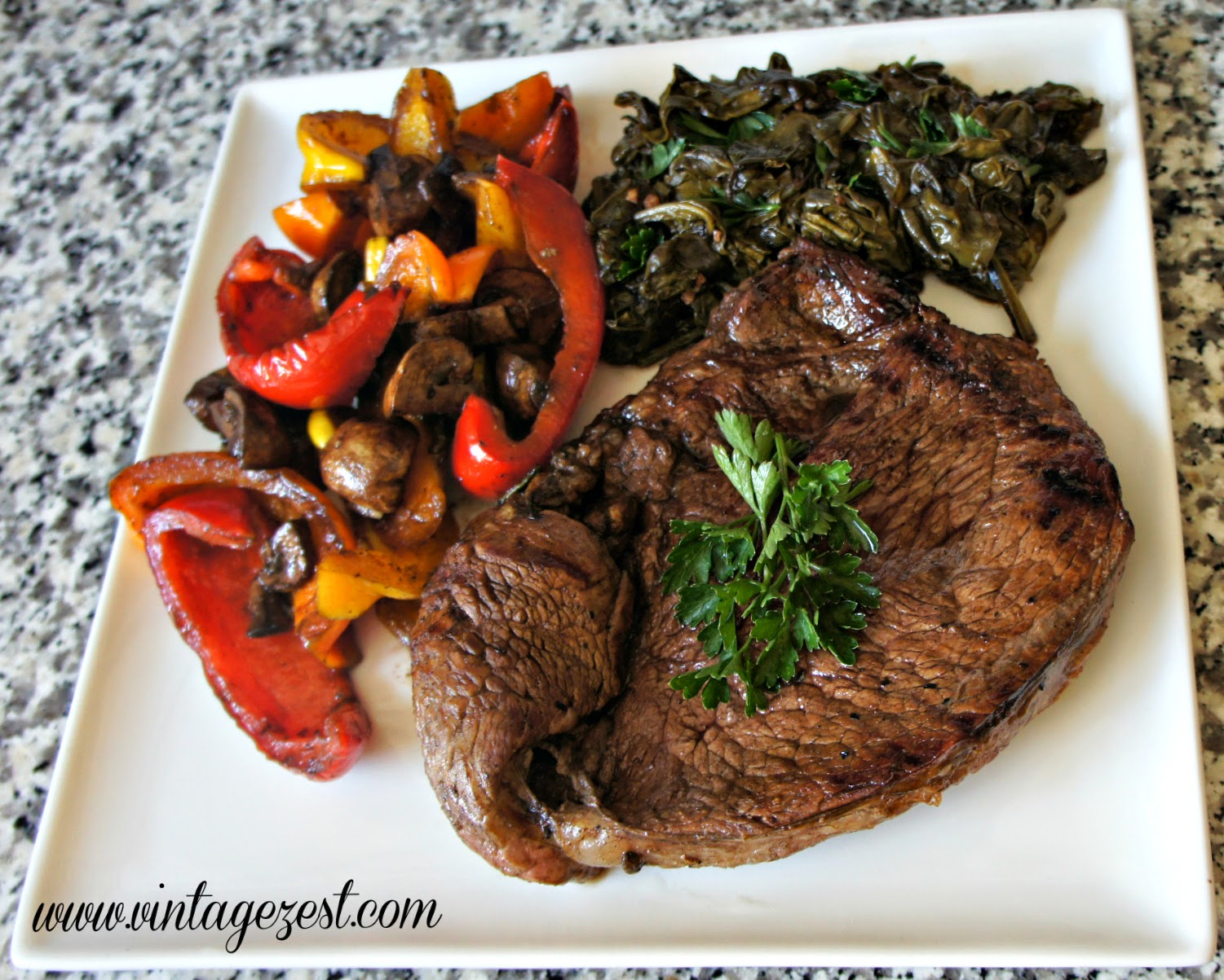 Balsamic Steak and Vegetables Recipe #ChooseSmart #CollectiveBias #shop
