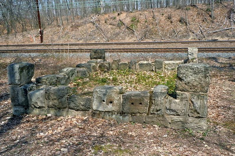 For years, many believe this was a mass grave containing Irish railroad workers who died suddenly. Recently it was discovered that some were buried in a fill on the railway which in now the SEPTA Philadelphia Main Line.