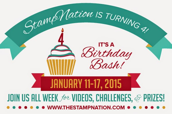 StampNation 4th Birthday Bash