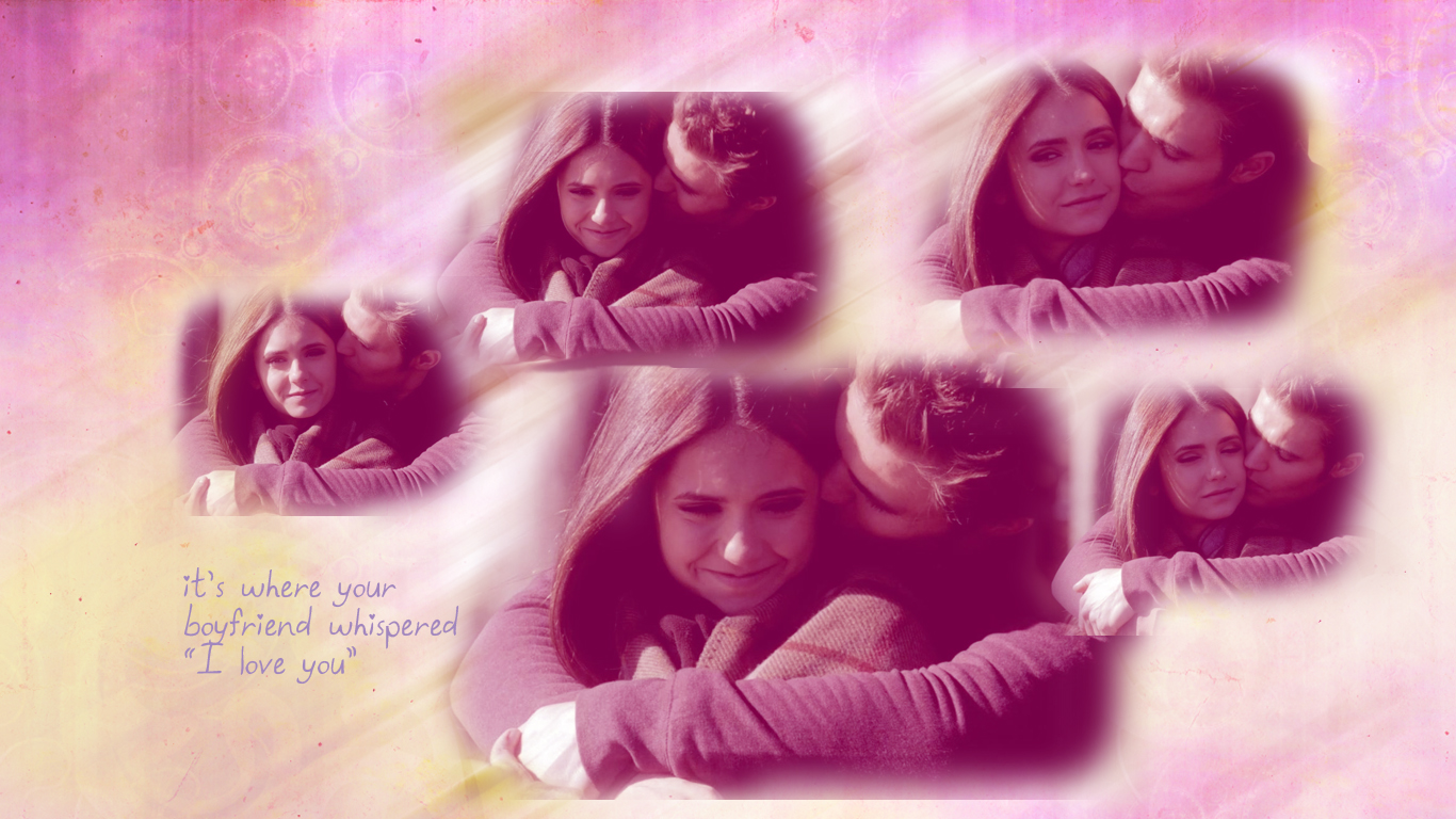Laura's graphics: two stelena wallpapers from crying wolf