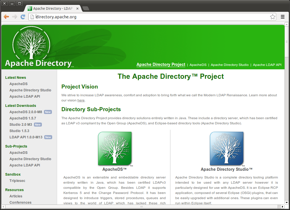 Open Design And Architecture Download And Install Apache Directory Studio On Ubuntu 12 04