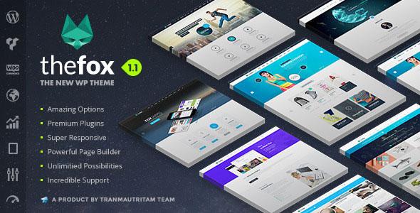 TheFox v1.20 – Responsive Multi-Purpose WordPress Theme