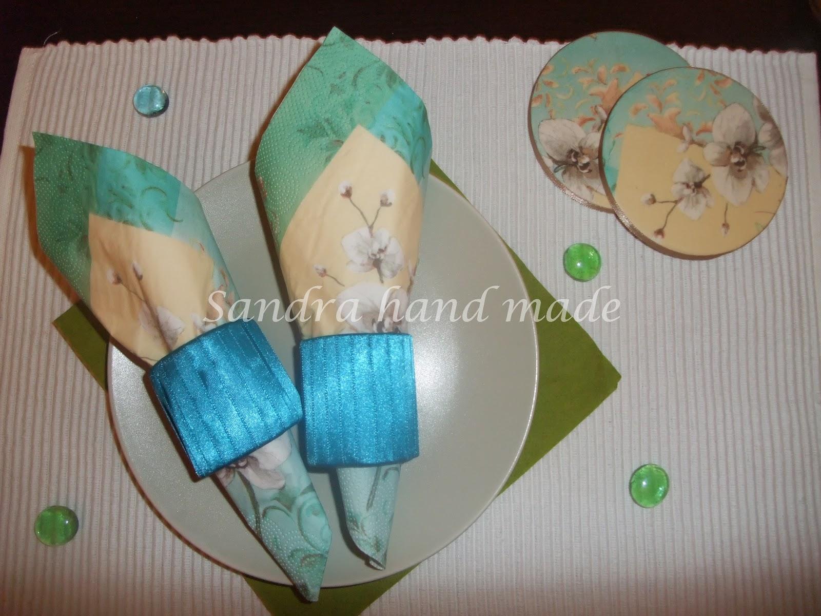 Handmade by Sandra: Dekoracija trpeze