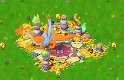 Breeding Electrum Dragon in Dragonvale Guide
