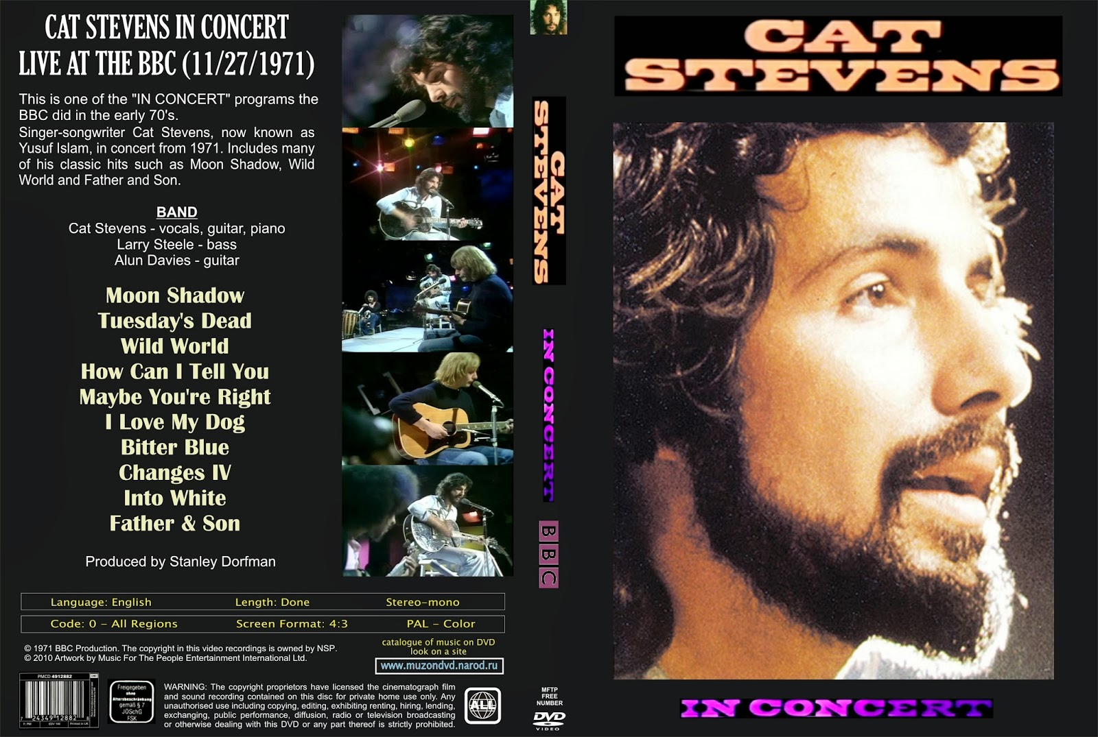 Cat Stevens How Can I Tell You