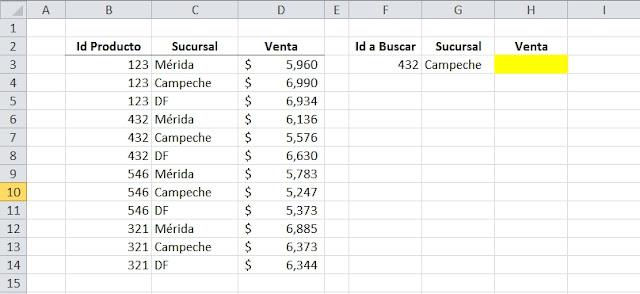 Funciones en Excel