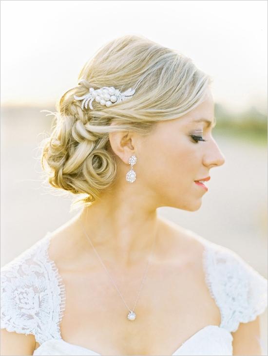 Elegant Wedding Hair And Makeup : slubna Wzorcownia: Niskie koki i upi?cia