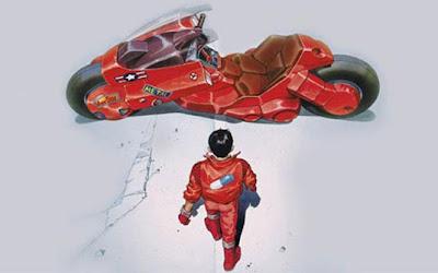 'Akira' (1988) Moto: animação