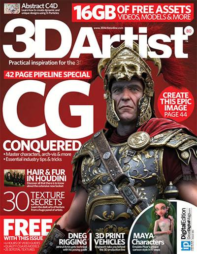 3D Artist Magazine Issue 80 2015
