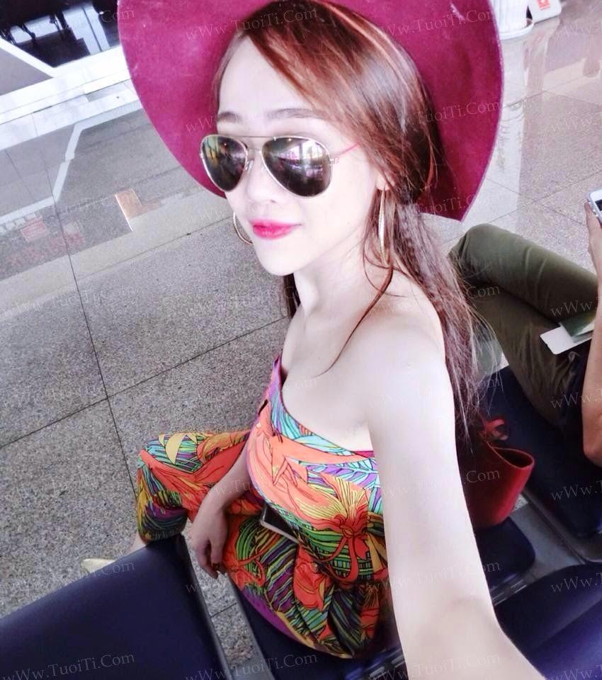 Ảnh gái xinh Ngọc Lena trắng trẻo ngon lắm đây! 1