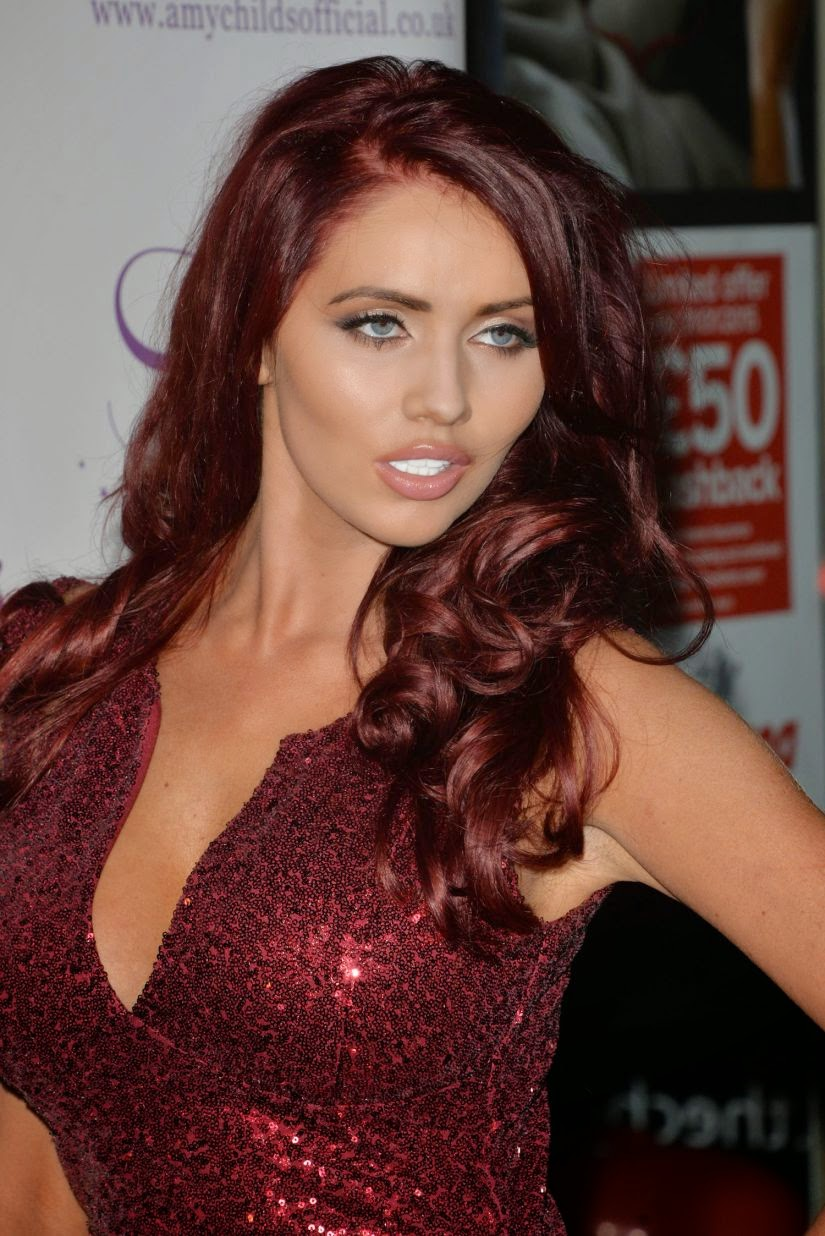 British TV Personality Amy Childs Looks Spectacular at Amy Childs Clothing 3rd Anniversary Party‏