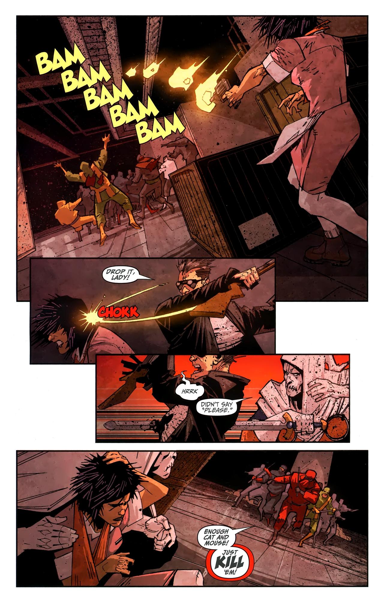 Read online Taskmaster (2010) comic -  Issue #4 - 13