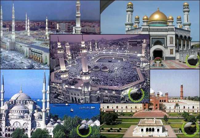 10 Masjid yang memiliki Arsitektur Luar Biasa di Dunia