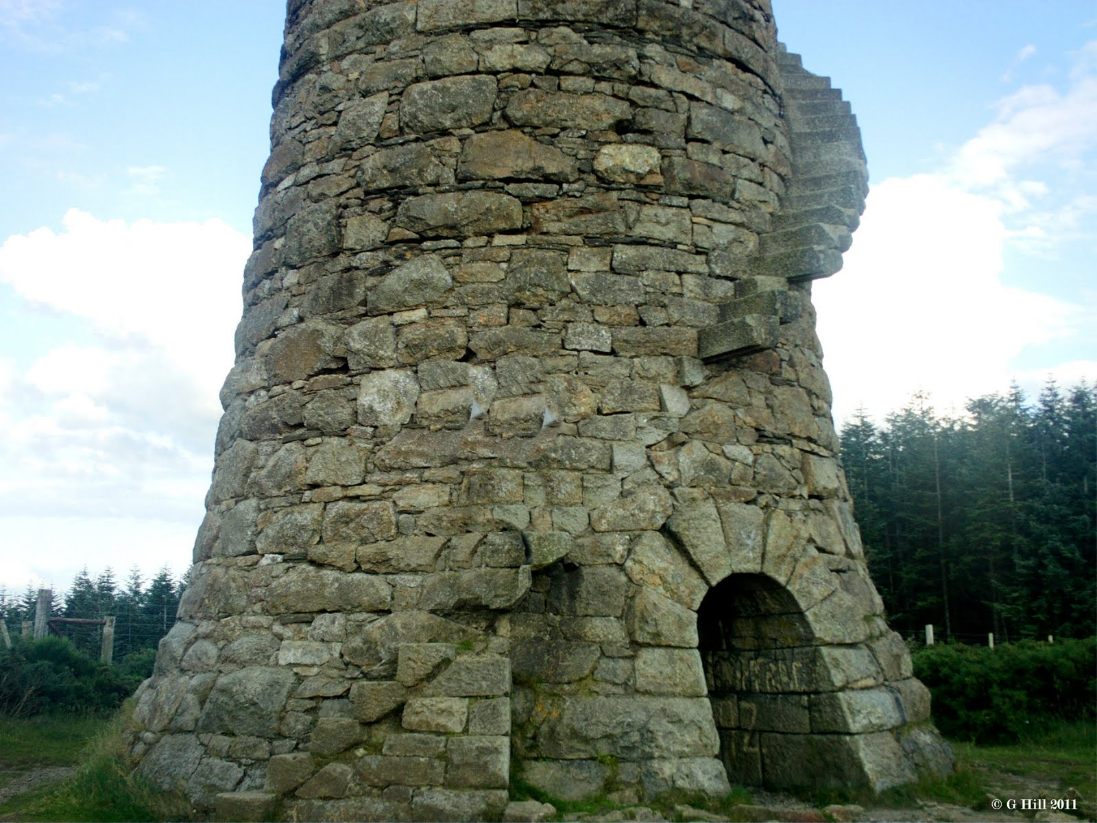 Ireland In Ruins Ballycorus Chimney Co Dublin