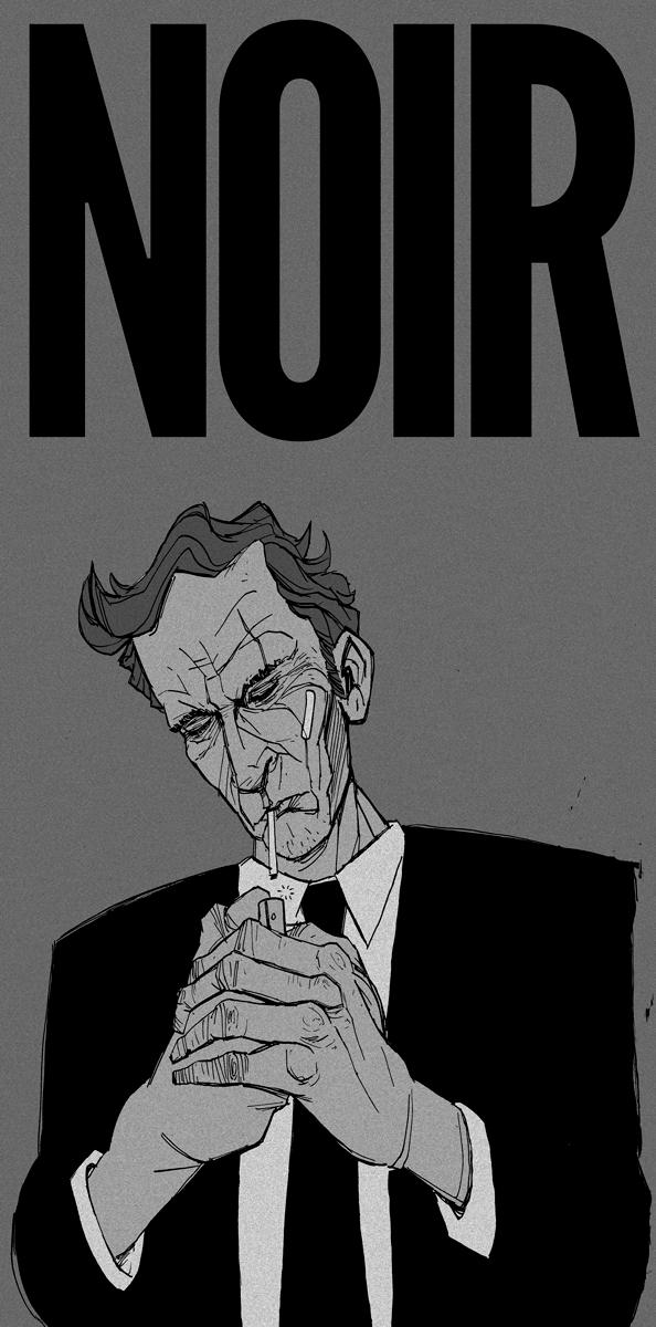 Film Noir drawing