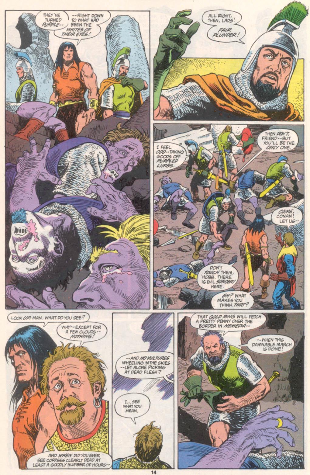 Conan the Barbarian (1970) Issue #255 #267 - English 11