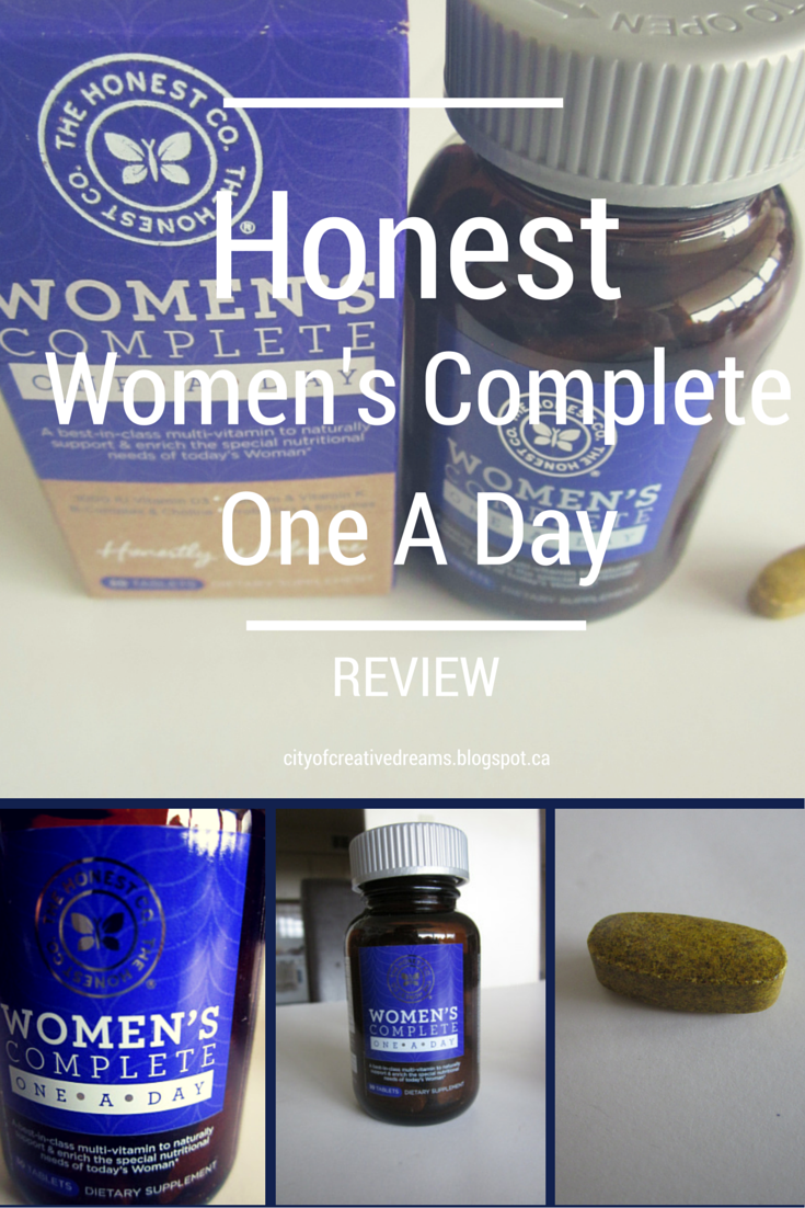 honest womens complete one a day