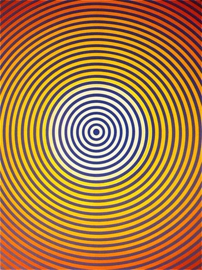 Optische Illusies En Gezichtsbedrog Tunnels Optische