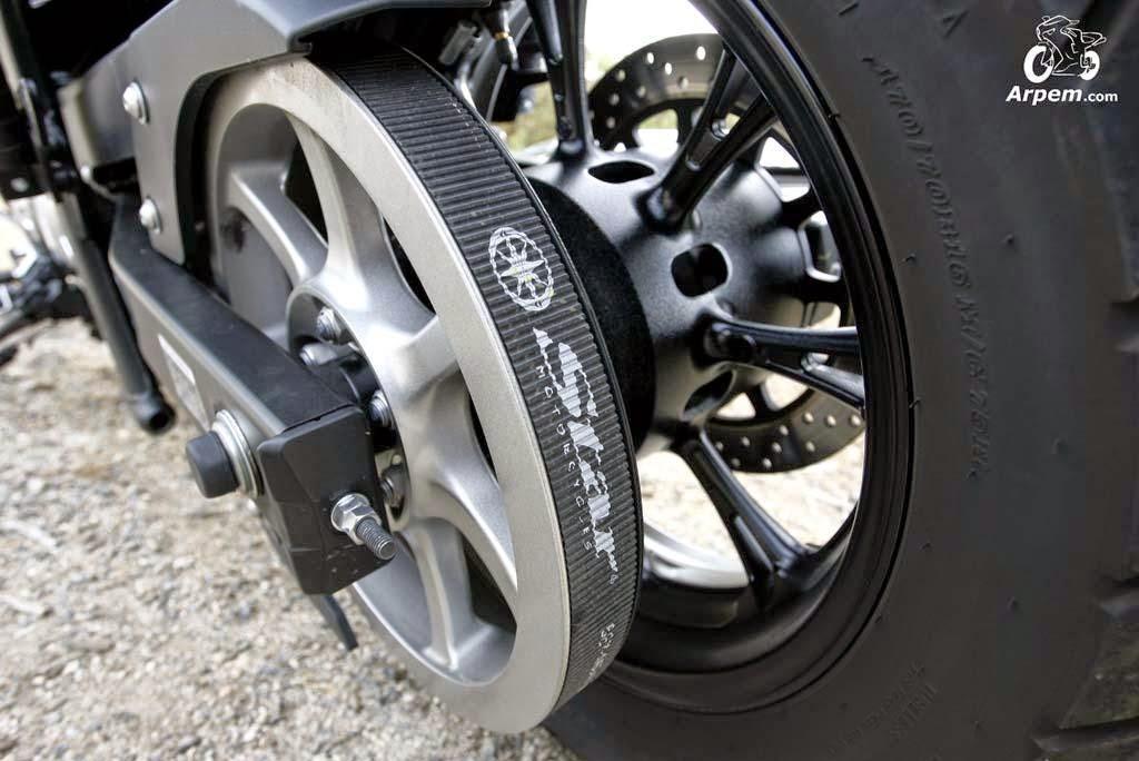 AndoMoto: Motor, embrague, alternador, caja de cambios y má