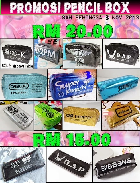 PROMOSI KPOP PENCIL CASE