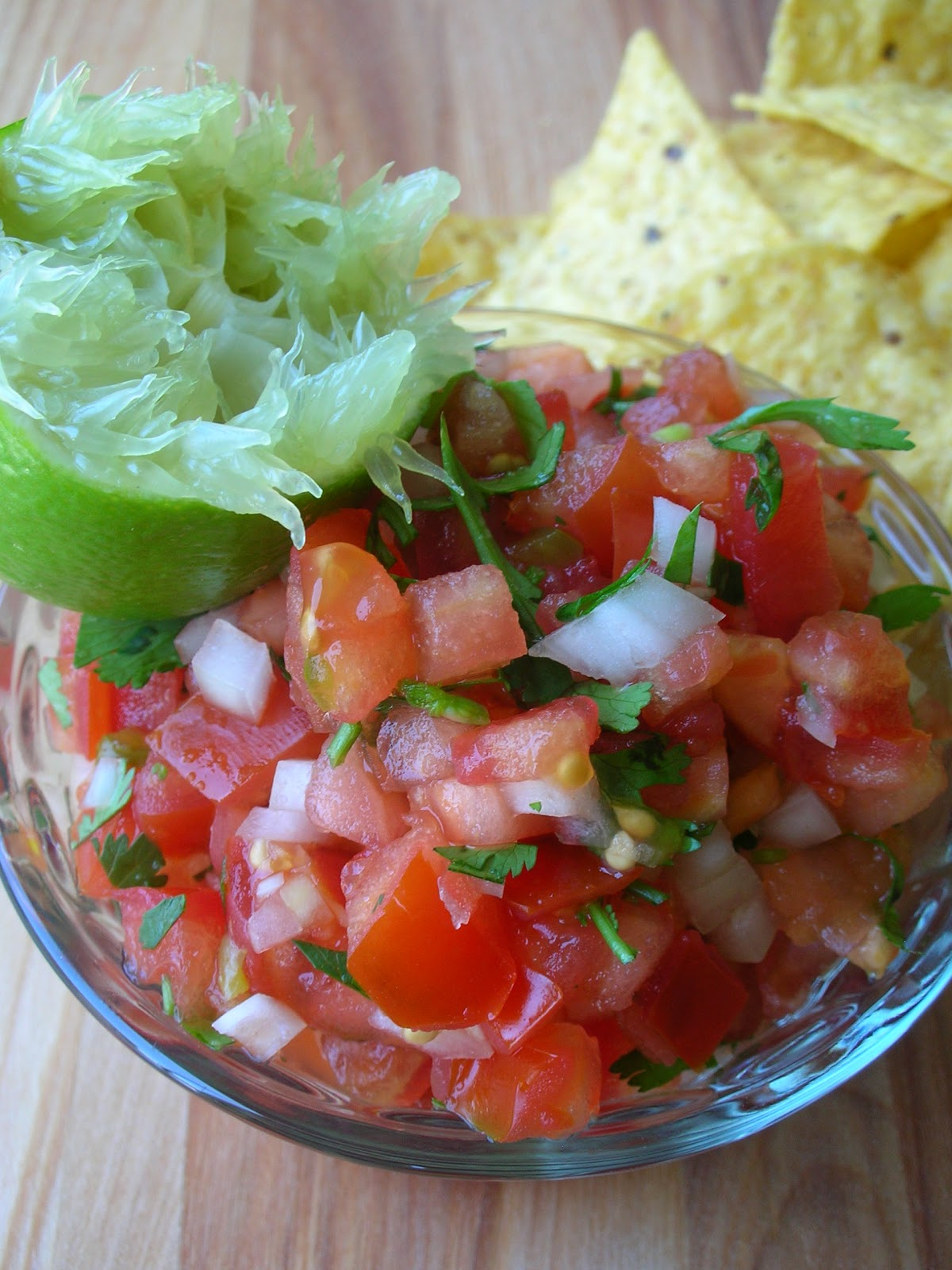 Basil: Pico de Gallo