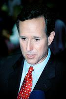 Santorum Vomits