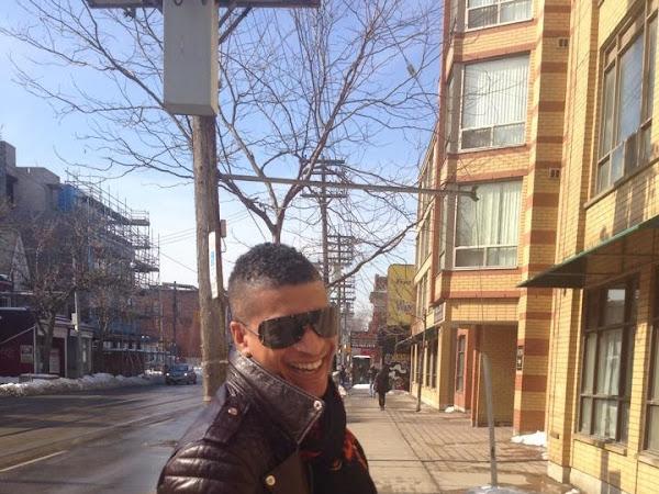 Street Style: Akim Larcher