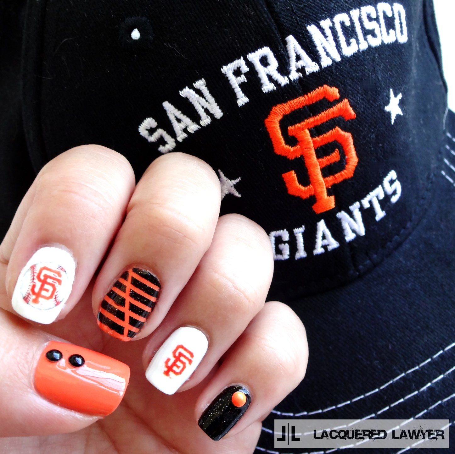 Lacquered Lawyer | Nail Art Blog: San Francisco Giants