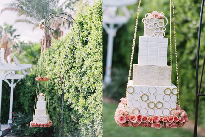Tropical Palm Springs Wedding Inspiration at the Riviera by Michelle Garibay Events