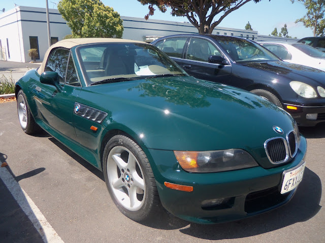 Almost Everything's Car of the Day is a 1998 BMW Z3--AfterPainting