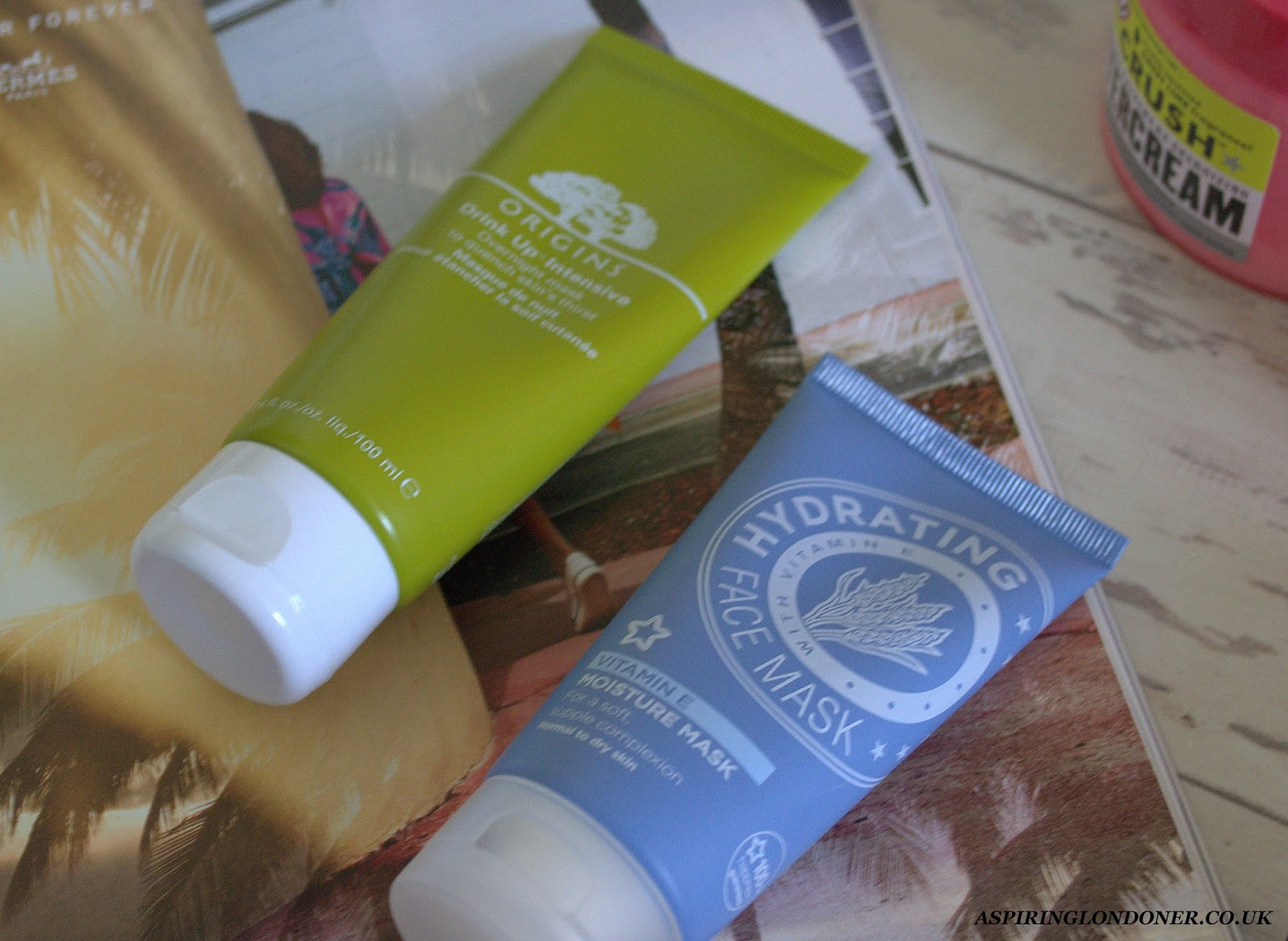 Superdrug Vitamin E Moisture Mask Review - Aspiring Londoner