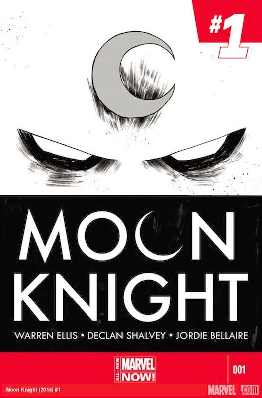 Moon Knight #1  By Warren Ellis, Declan Shalvey, Jordie Bellaire, Chris Elliopoulos, Adi Granov, Bill Siekiewicz, Skottie Young, Katie Cook.