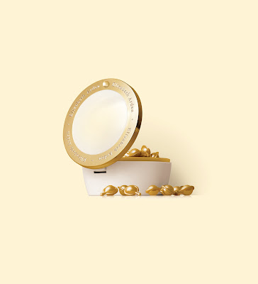 Elizabeth Arden Ceramide Gold Ultra Restorative Capsules Intensive Treatment for Face and Throat
