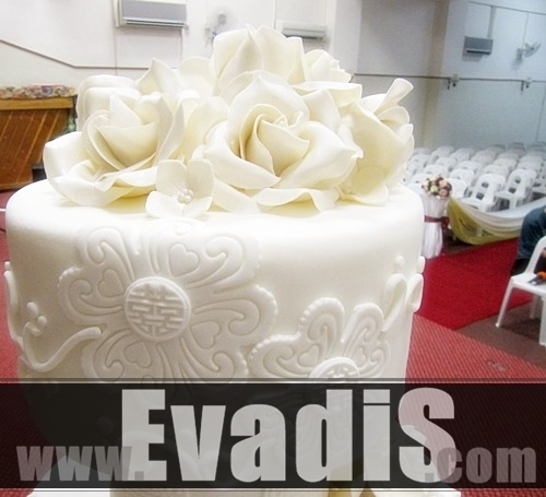 Picture of Top Tier Wedding Cakes Design
